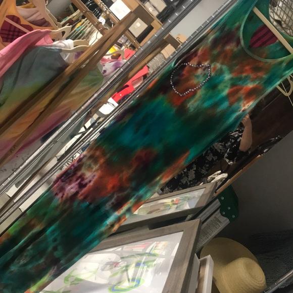 TKO By tawny kitaen Dresses & Skirts - Beautiful tie-dye dress made by TKO By Tawny kitae